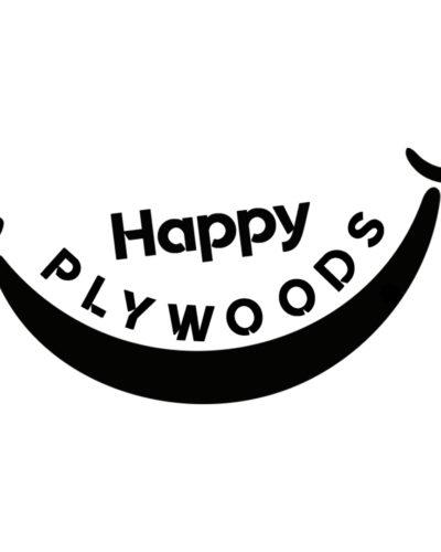 Happy Plywoods logo black