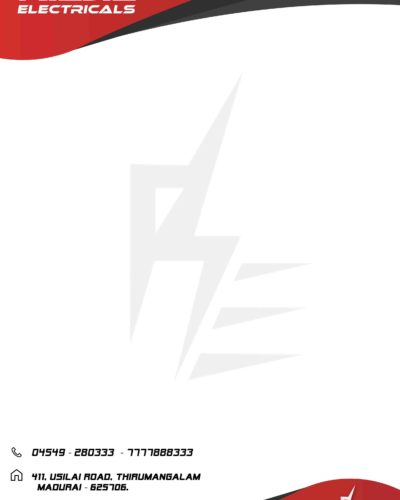 Raja Electricals Letterpad