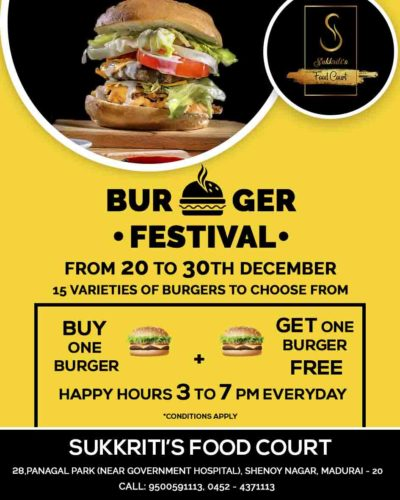 burger festival 10 x 8